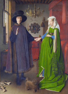 The Arnolfini Wedding by Jan Van Eyck, 1434 (National Gallery, London)