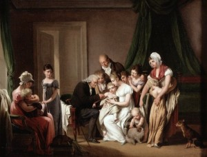 Boilly - The Vaccination (Wellcome Library, London)