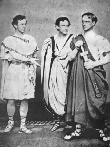 The Booths in Julius Caesar, 1864